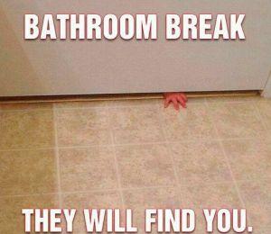 bathroombreak