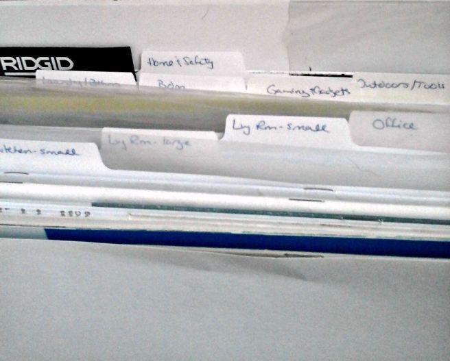 manuals binder dividers
